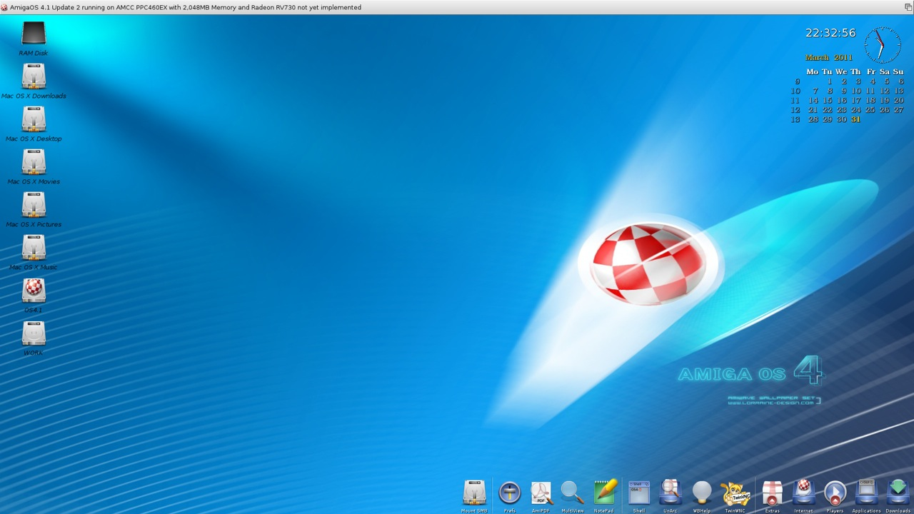 SAM 460ex AmigaOS 4.1 Workbench (38/44)