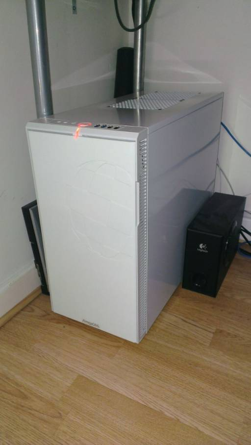 AmigaOne 500 in a Boing Ball Case 2