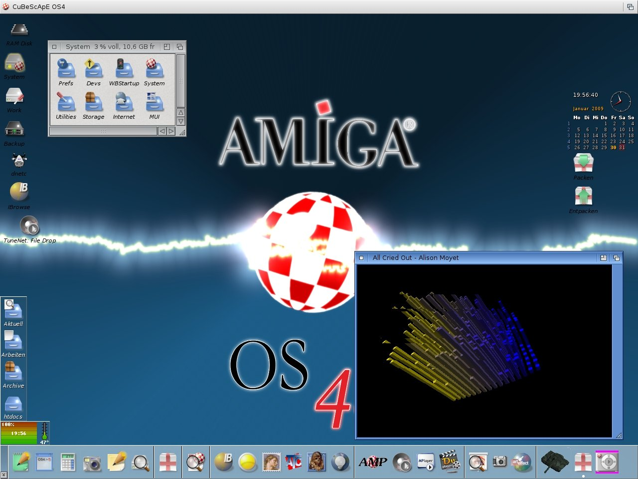 AmigaOS 4.1 Workbench 2009
